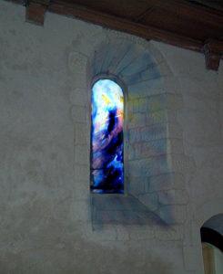 Norbert Pagé Eglise Marcé-sur-Esves Création de planète Norbert Pagé