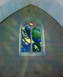 Norbert Pagé Église Marcé-sur-Esves Le jardin d'Éden Norbert Pagé