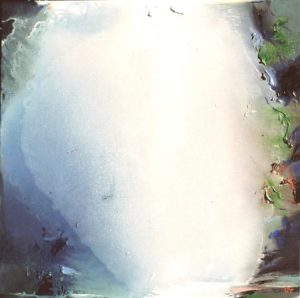 Norbert Pagé La grande cascade 80 x 80 cm 2004