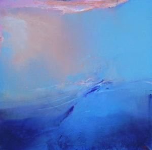 Norbert Pagé Nuage rose 120 x 120 cm 2007