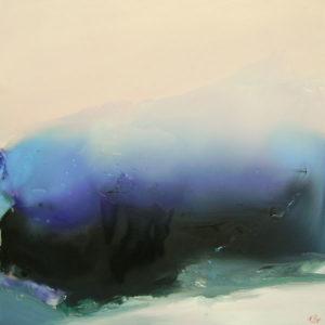 Norbert Pagé Fille du vent 100 x 100 cm 2007