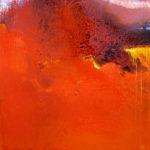 Norbert Pagé Magma 100 x 100 cm 2007
