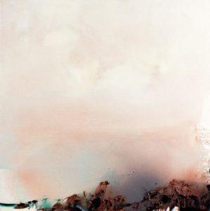 Norbert Pagé Mouvance éphémère 100 x 100 cm 2004