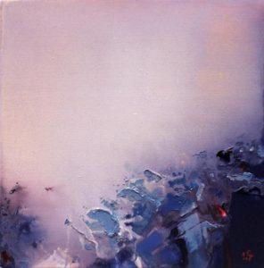 Norbert Pagé Brouillard 40 x 40 cm 2004