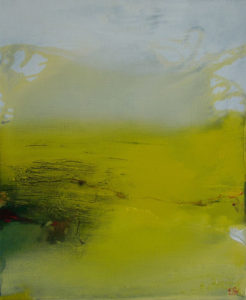 Norbert Pagé Le champ aux alouettes 65 x 54 cm 2005