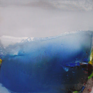 Norbert Pagé La haute vague 80 x 80 cm  2005