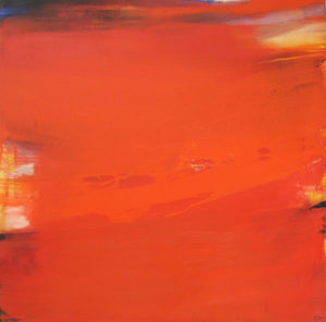 Norbert Pagé Secrète harmonie 100 x 100 cm 2005