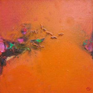 Norbert Pagé Jardin mystique III 40 x 40 cm 2006