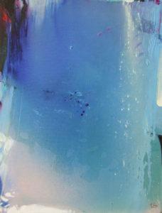 Norbert Pagé Perle de pluie 65 x 50 cm 2006