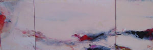 Norbert Pagé Chine (Triptyque) 27 x 79 cm 2006