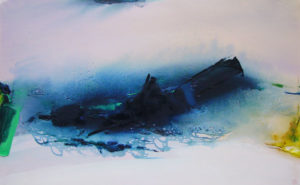 Norbert Pagé L'île mystérieuse 81 x 130 cm 2006