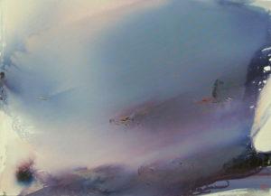 Norbert Pagé L'orage 73 x 100 cm 2006