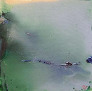 Norbert Pagé Hautes eaux 40 x 40 cm 2006