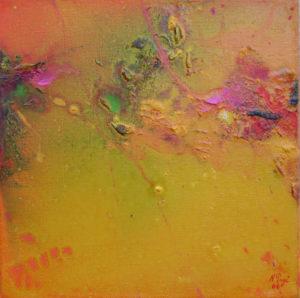 Norbert Pagé Jardin mystique VII 30 x 30 cm 2006
