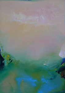 Norbert Pagé Les algues vertes 92 x 65 cm 2006