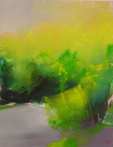 Norbert Pagé Forêt de Bebour 65 x 50 cm 2006