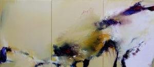 Norbert Pagé Ha Bo Ku (Triptyque) 61 x 138 cm 2008