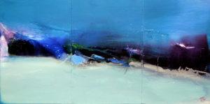 Norbert Pagé Marine (Triptyque) 41 x 81 cm 2008