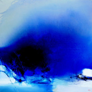 Norbert Pagé Abstraite 100 x 100 cm 2008