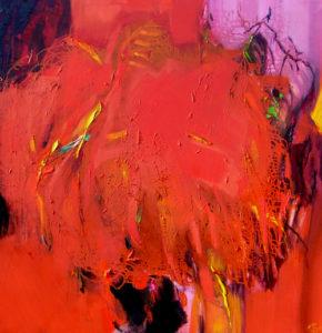 Norbert Pagé Sumac 2 120 x 120 cm 2008