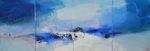 Norbert Pagé D'un long voyage d'hiver (quadriptyque) 46 x 132.5 cm 2008
