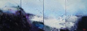 Norbert Pagé Jardin d'hiver (quadriptyque) 35 x 96.5 cm 2008