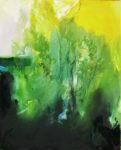 Norbert Pagé En forêt 100 x 81 cm 2009