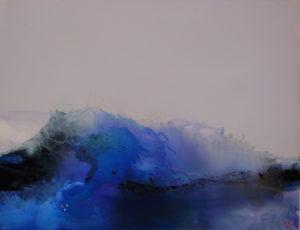 Norbert Pagé La vague 89 x 116 cm 2009