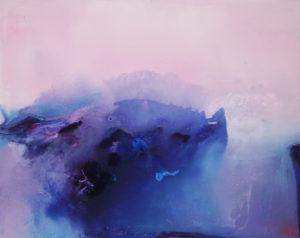 Norbert Pagé Matin rose 73 x 92 cm 2009