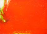 Norbert Pagé Rouge à la tache blanche 60 x 81 cm 2009