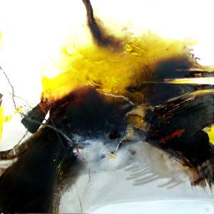 Norbert Pagé Sans titre 120 x 120 cm 2009