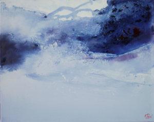 Norbert Pagé Marée Montante 40 x 50 cm 2009