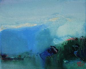 Norbert Pagé Soir 22 x 27 cm 2009