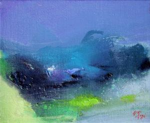 Norbert Pagé Paysage 22 x 27 cm 2009