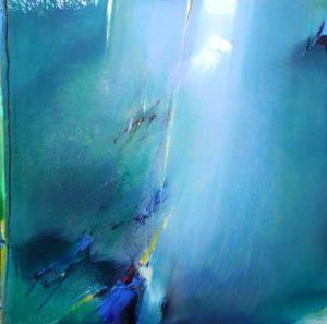 Norbert Pagé Contre-jour 150 x 150 cm 2008