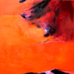 Norbert Pagé Sans titre 150 x 150 cm 2008