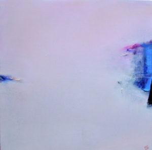Norbert Pagé Rose d'un matin 90 x 90 cm 2007