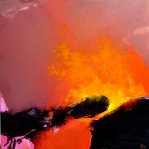 Norbert Pagé Le souffle de la terre 100 x 100 cm 2007