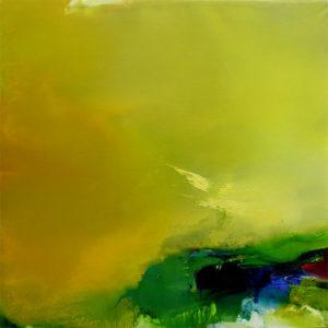 Norbert Pagé L'âme de poètes 150 x 150 cm 2007
