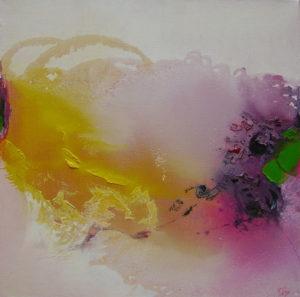 Norbert Pagé Jardin mystique 50 x 50 cm  2005