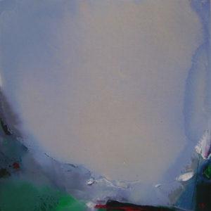 Norbert Pagé Le col infranchissable 80 x 80 cm 2005