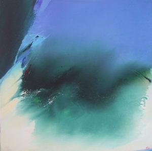 Norbert Pagé La dune 100 x 100 cm 2005