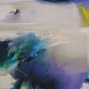Norbert Pagé Le vent 100 x 100 cm 2005
