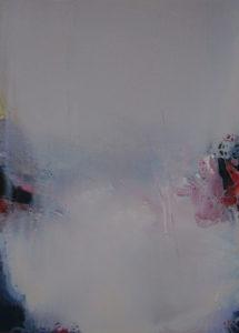 Norbert Pagé Les roches rouges 73 x 54 cm 2006