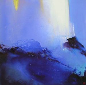 Norbert Pagé Hommage à Guiseppe Verdi 120 x 120 cm 2006
