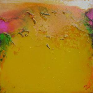 Norbert Pagé Jardin mystique V 30 x 30 cm 2006