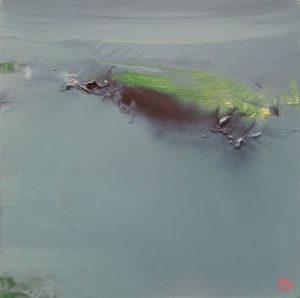 Norbert Pagé Inondation 40 x 40 cm 2006