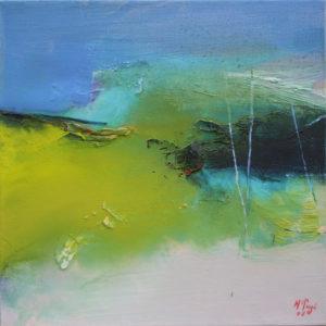 Norbert Pagé Paysage 30 x 30 cm 2006