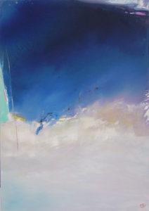 Norbert Pagé Par le vent de Noroit 92 x 65 cm 2006