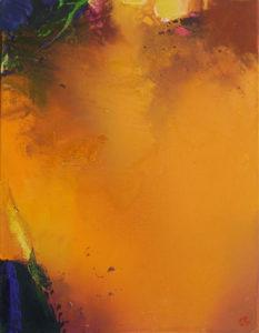 Norbert Pagé L'enclos de la Fournaise 65 x 50 cm 2006